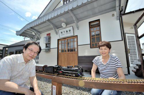 阿下喜駅 旧駅舎を復元